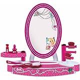 Theo Klein 5378 - Barbie Schönheitsstudio Tischversion mit Zubehör
