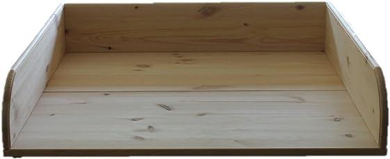 Wickeltischaufsatz Kiefer massiv 80x80x17cm