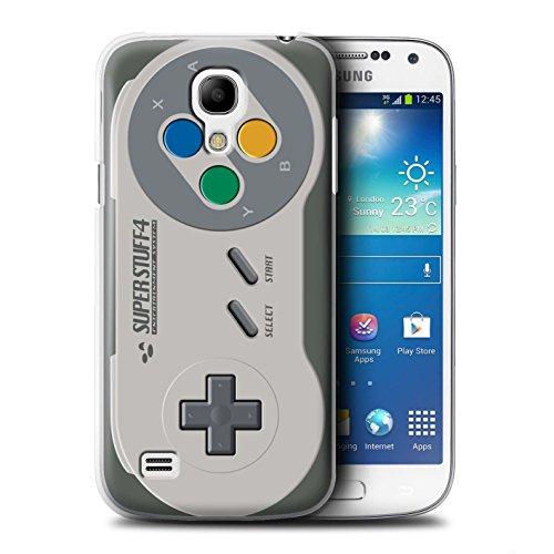 Stuff4 Hülle / Case für Samsung Galaxy S4 Mini / Super Nintendo Muster / Spielkonsolen Kollektion