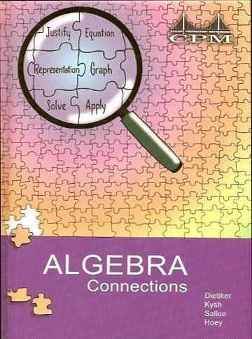 Algebra Connections Volumes 1 and 2 por not-available