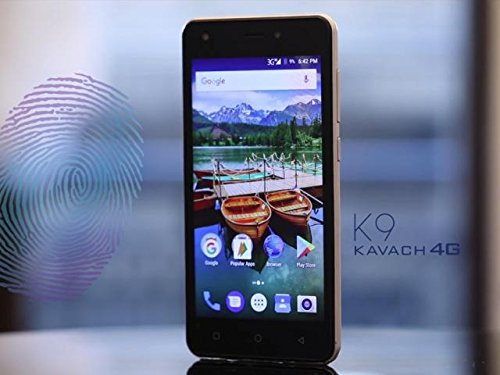 Karbonn K9 Kavach 4g Volte Smart Phone- Black
