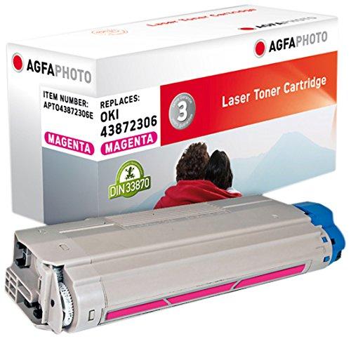 Preisvergleich Produktbild AgfaPhoto APTO43872306E Toner für OKI C5650, 2000 Seiten, magenta