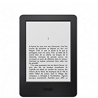 "Liseuse Kindle, écran tactile 6"" (15,2 cm) antireflet, Wi-Fi (Noir) - Avec Offres spéciales (Génération précédente -7ème) (B00KDRUCJY) 