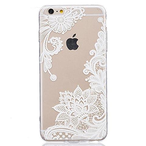 Coque iPhone 6 6S, Cozy Hut ® Coque iPhone 6 6S [ Liquid Crystal ] (Silicon Schermo Pelle Della Protezione)