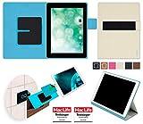 reboon Hülle für Blaupunkt Endeavour 1010 Tasche Cover Case Bumper | in Beige | Testsieger