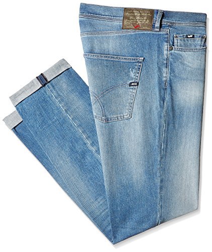 GAS Men's Slim Fit Jeans (8059890974412_67625W772_40W x 34L_W772)
