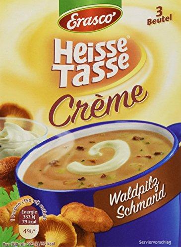 Heisse Tasse Waldpilz Schmand Faltschachtel á 3 Beutel á 0,15 l, 12er Pack (12 x 450 ml)