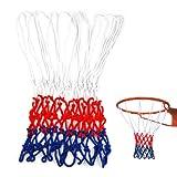 TOOGOO(R) Seriensport Nylon dauerhaft Allwetter-Matchtraining Basketball-Netz