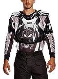Roleff Racewear Pettorina Motocross, Argento (Silverglance), XL