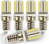 Brollux E14 LED Lampe, 3W, Warmweiß, 200Lumen, 320°, Für Nachtischlampe, Kühlschrank, Schreibtisch, Nähmaschine
