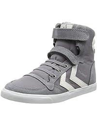 Hummel Unisex-Kinder Slimmer Stadilcanvas Jr Hi Hohe Sneakers