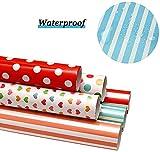 Papel Para Envolver Regalos, Joeyer 6 Hojas Envoltura Colorido Para Cumpleaños, Día De Fiesta, Boda, Baby Shower