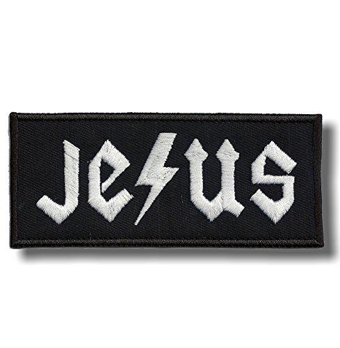 Jesus - embroidered patch, 7 X 3 cm. (Jesus Patch)
