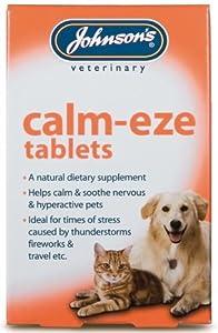 Calm-Eze Dog Tablets 36 Pack - Johnsons (TP)(JCET) by Pet-Bliss