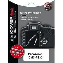 DigiCover - Protector premium de pantalla LCD para Panasonic DMC-FS30