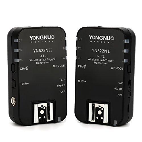 Yongnuo-YN-622N-II-Wireless-Flash-Trigger-ricetrasmettitore-compatibile-con-i-TTL-e-flash-manuale-per-Nikon-D3X-D200-D300-D4-D4S-D700-D800-Smart-D7200-Smart-D7300-D5000-D600-D610-Diffusore-TARION