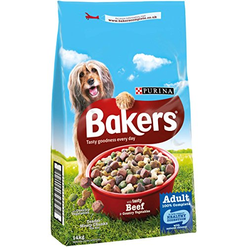 bakers-complete-dog-food-tender-meaty-chunks-tasty-beef-and-country-vegetables-14-kg
