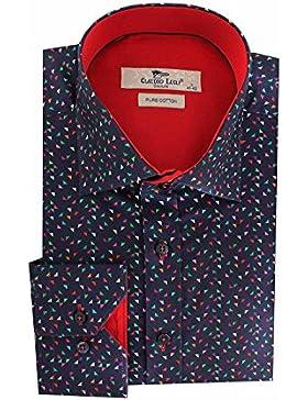 Peter England - Camisa formal - para hombre