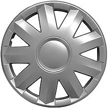 (Farbe & Größe wählbar) 16 Zoll Radkappen TURKUS Graphit passend für fast alle gängingen Fahrzeuge (universal)