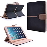 "MOFRED® Executive Buckle Suede Leather Apple iPad Pro 12.9"" Case (2015 and 2017 Model)-Executive Suede Leather Case for Apple iPad Pro 12.9"" with Built-in magnet for Sleep & Awake Feature (For iPad Models A160,A167,A1584 and A1652)"