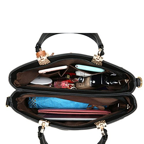 Eysee , Damen Tote-Tasche Dunkelrosa