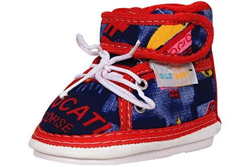Ole Baby Velcro with Lace Whistle Musical Outdoor First Walking Shoes 24-30 Months  available at amazon for Rs.199