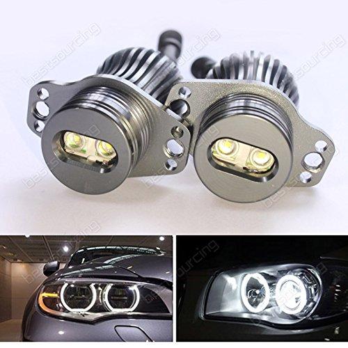 Preisvergleich Produktbild AR Canbus 20W BMW E90 E91 LED Marker Scheinwerfe Standlichtringe ANGEL EYE Licht STANDLICHT