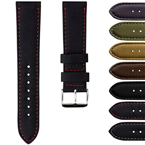 geckotar-nylon-canvas-fabric-padded-durable-sport-watch-strap-20mm-or-22mm