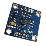 Swiftswan Tragbare Größe L3G4200D Dreiachs-Triaxial-Digital-Gyroskop-Sensormodul Winkelgeschwindigkeit Perfekter Ersatz