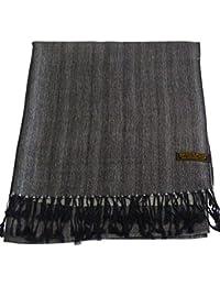 CJ Apparel Large écharpe/châle en pashmina (60 couleurs et plus) Nouveau