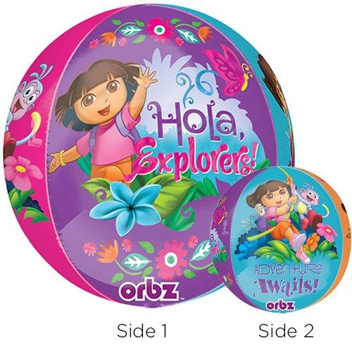 Anagram Folienballon 2839701Dora Orbz, 40,6cm farbenreiche