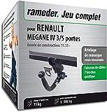 Rameder Attelage rotule démontable pour Renault Megane IV 3/5 Portes + Faisceau 7...