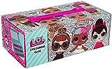 L.O.L. Surprise ! - Maletín de Pinturas con 52 Piezas, Rosa, 26 x 13 x 9 cm