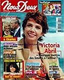 NOUS DEUX [No 3030] du 26/07/2005 - CAMILLA ET CHARLES - VICTORIA ABRIL - CUISINE - CRISTIANA REALI - JARDIN - MODE - LES...
