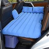 Car bed HUO Split Inflation Matratze Für Rücksitz Von Autos Outdoor-Reisen Camping Universal Air Bed (Farbe : Blau)