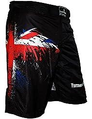 TurnerMax - Pantalón corto para deportes de lucha Talla:XXXL