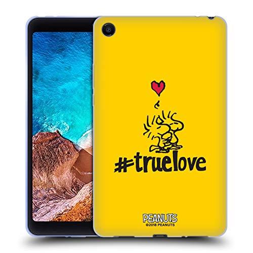 Head Case Designs Offizielle Peanuts Woodstock Wahre Liebe Versiegelt Mit Einem Kuss Soft Gel Hülle für Xiaomi Mi Pad 4 -