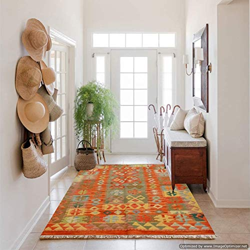 Miss cucci tappeto kilim afgano 286 misura 122x81 cm