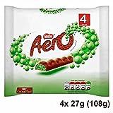 Nestle Aero Mint Bubbly Bar Multipack 4 x 27g (108g)