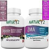 Naturyz Jointe with 1500 mg Glucosamine, 400 mg Chondroitin & 400 mg MSM