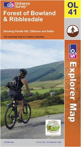 Forest of Bowland and Ribblesdale (OS Explorer Map)