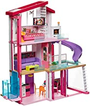 Barbie Dreamhouse Dollhouse with Pool, Slide and Wheelchair Accessible Elevator, Gift for 3 to 7 Year Olds GNH