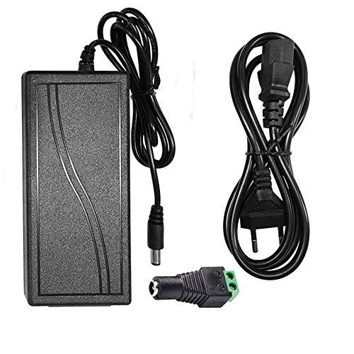 60W DC12V 5A Netzteil Trafo Netzadapter für 5050/3528/5630 LED Lichtband(alle Lichterkette), TFT LCD Monitor Kamera PicoPSU