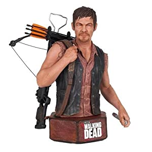 The Walking Dead Daryl Dixon Mini Action Figure Bust by Walking Dead 4