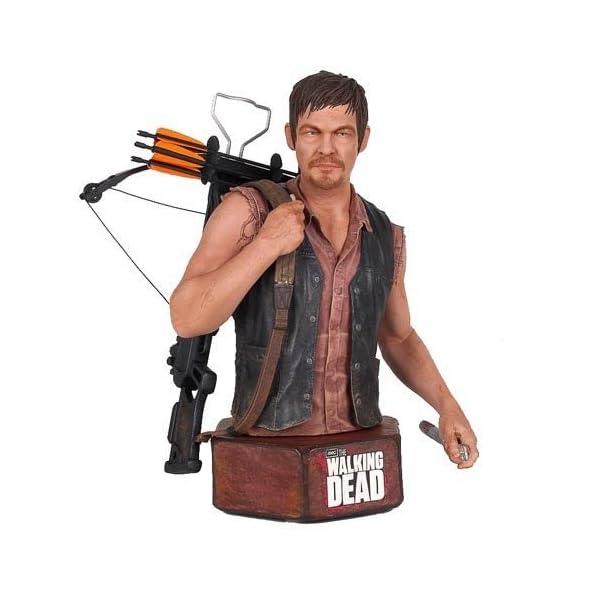 The Walking Dead Daryl Dixon Mini Action Figure Bust by Walking Dead 1