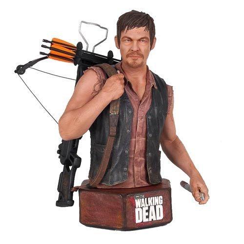 The Walking Dead Daryl Dixon Mini Action Figure Bust by Walking Dead - Dixon Action Figure