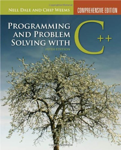 Prog & Prob Solving C++ 5e