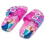 gapuchi Disney Cool Slippers Frozen Princess Boys Girls Summer Fashion Non-Slip Bathroom Beach Shoes Soft & Anti Slip Sole