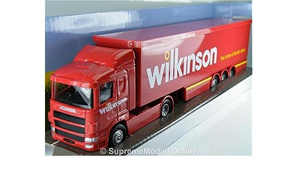 Scania Artic Wilkinsons Lorry Model Corgi Superhaulers 1/64