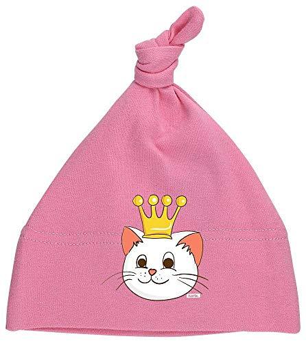 Prinzessin Kinder Bubblegum Kostüm - HARIZ Baby Mütze Knoten Katze Prinzessin Mit Krone Tiere Kindergarten Plus Geschenkkarten Bubblegum Pink